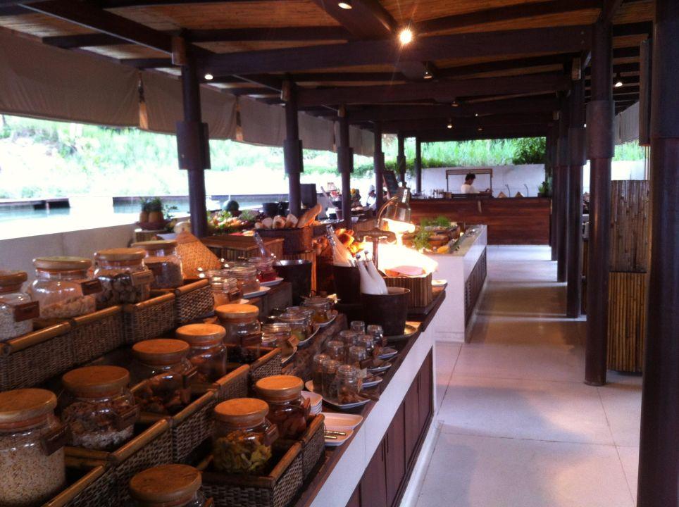 Frühstücksbuffet Six Senses Samui Resort & Spa
