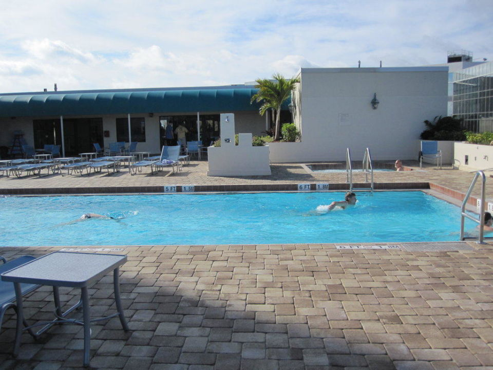 Poolbereich Hotel Marriott - Fort Lauderdale North