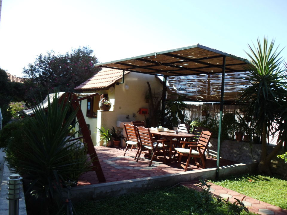 Sitzmöglichkeiten Apartments Miljas