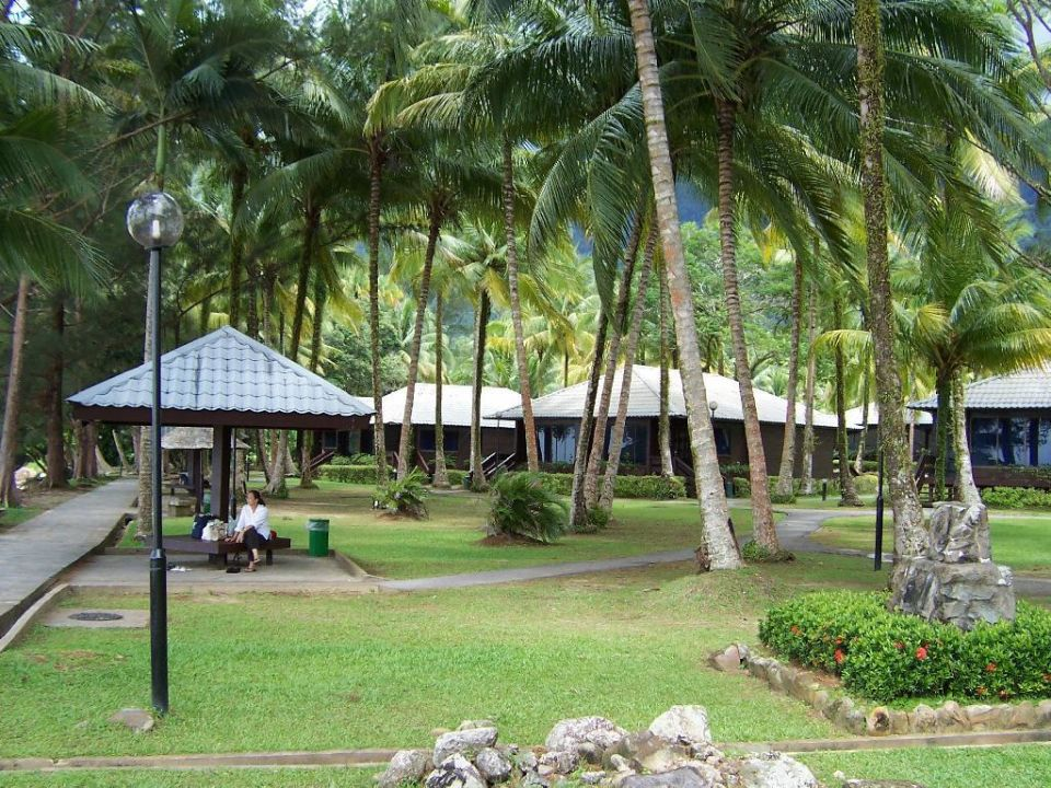 Anlage um die Strand-Chalets Damai Beach Resort