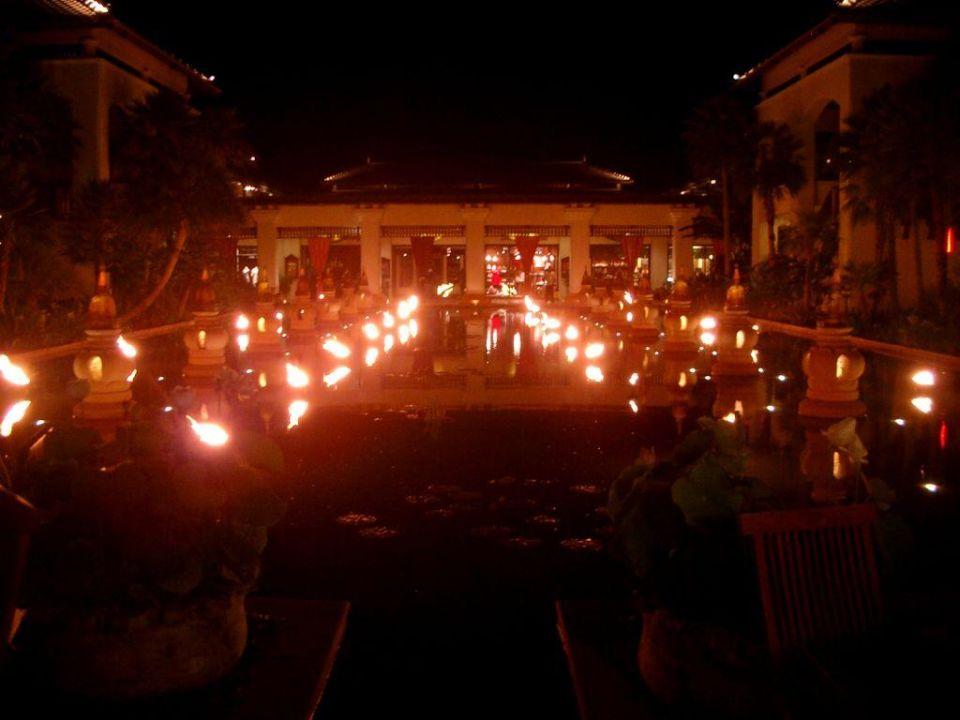 Beleuchtung JW Marriott Phuket Resort & Spa