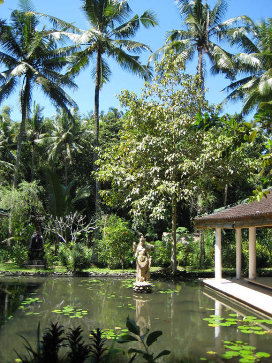 Teich und Garten Jiwa Damai Retreat Bali