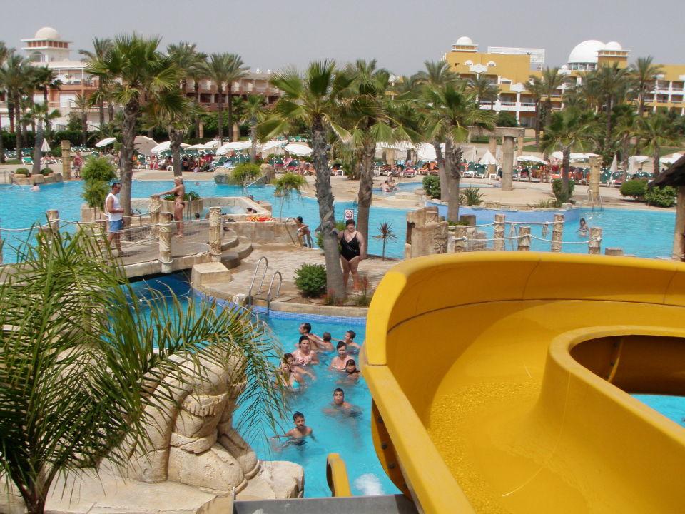 Panoramica desde zona toboganes Zimbali Playa Spa Hotel