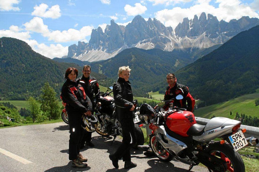 Der Spezialist für Motorradfahrer Hotel Steineggerhof