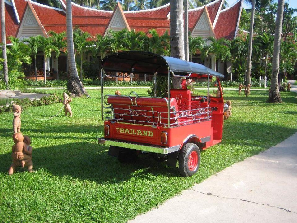 Hoteltaxi zur Rezeption Santhiya Tree Koh Chang Resort