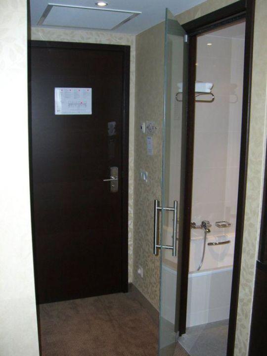 Zimmereingang Grand Hotel Casselbergh Brugge
