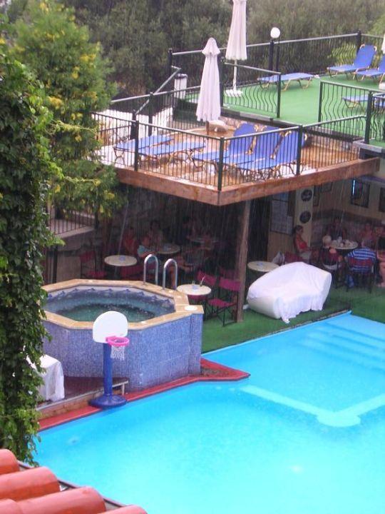 Pool/Bar Hotel Kriopigi