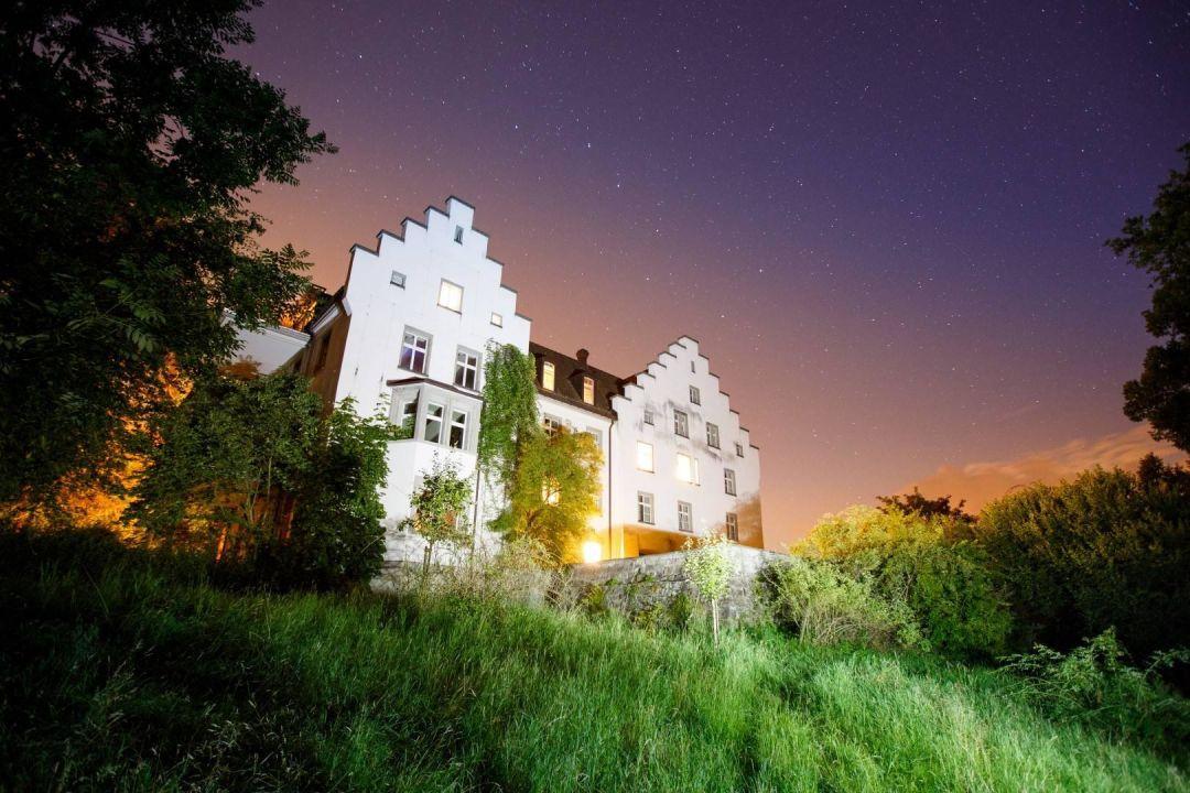 Abendstimmung Hotel Schloss Wartegg