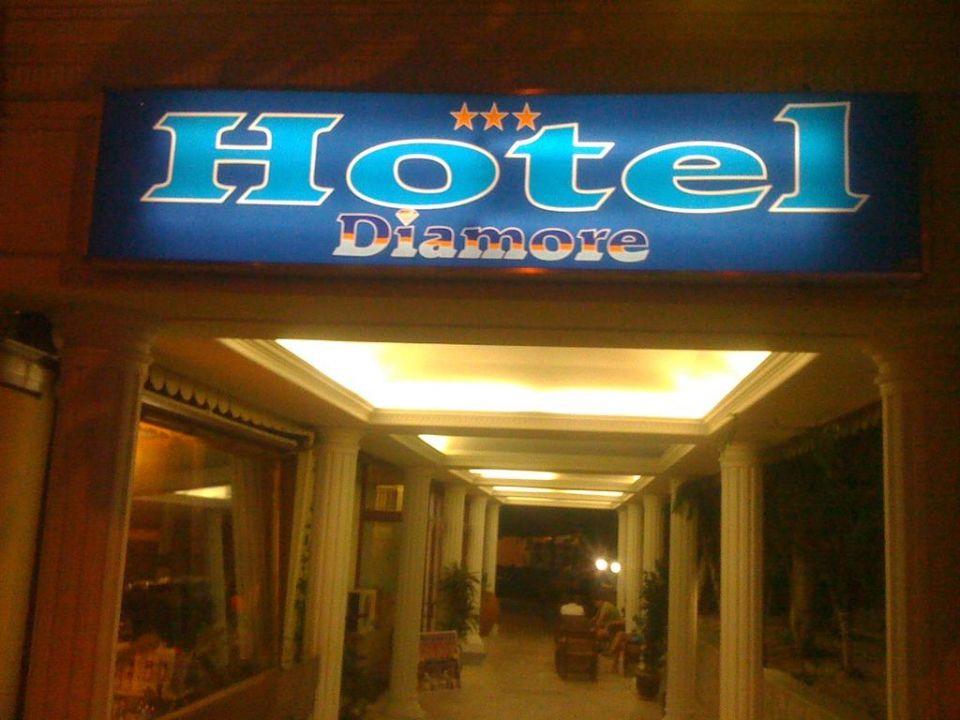 Hoteleingang Hotel Diamore