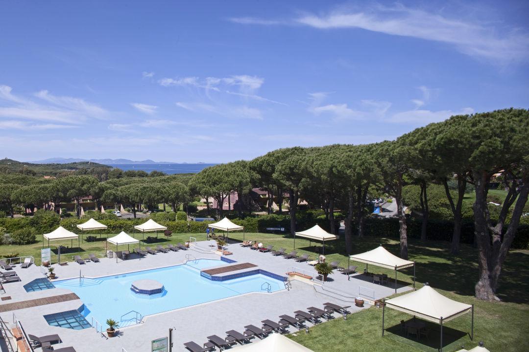 Pool Golf Hotel Punta Ala