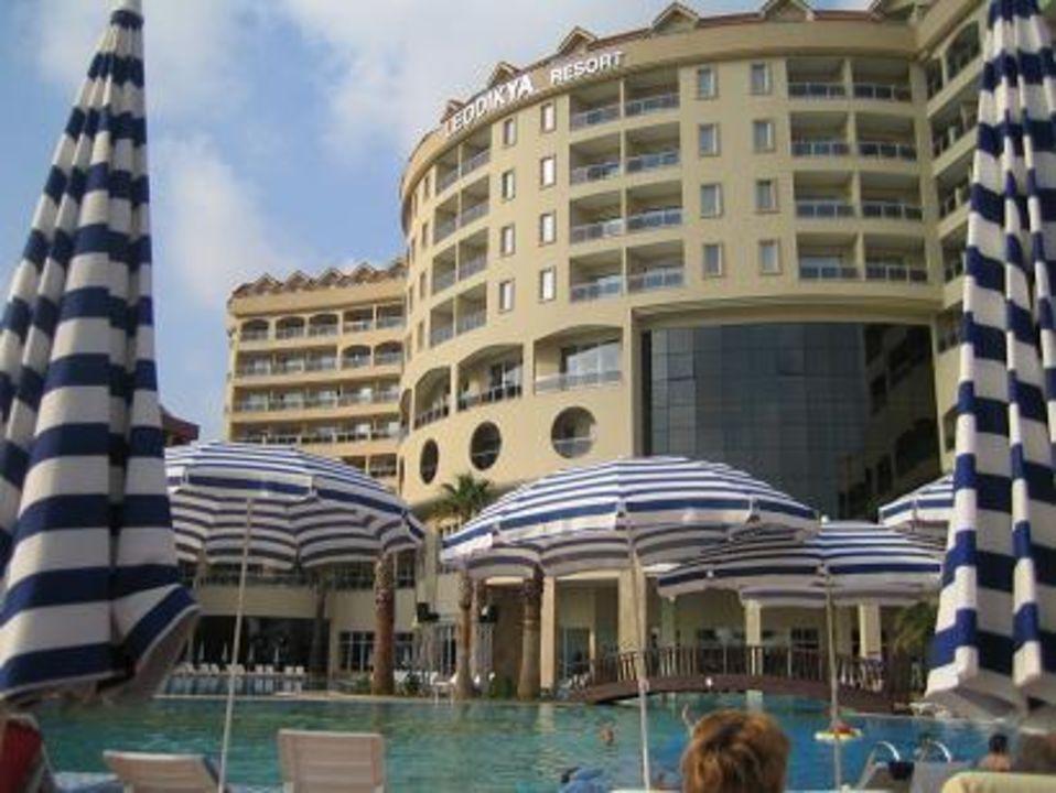 Hotel von Außen Kirman Leodikya Resort