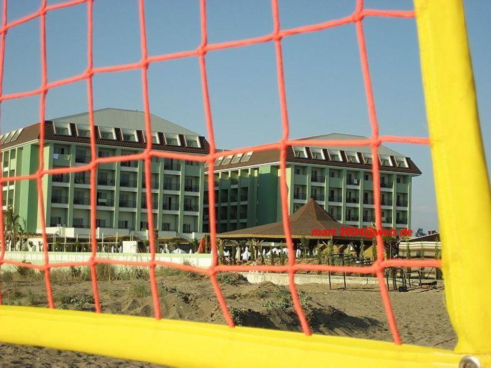Blick vom Volleyballplatz Mholiday Hotels Belek (Vorgänger-Hotel - existiert nicht mehr)