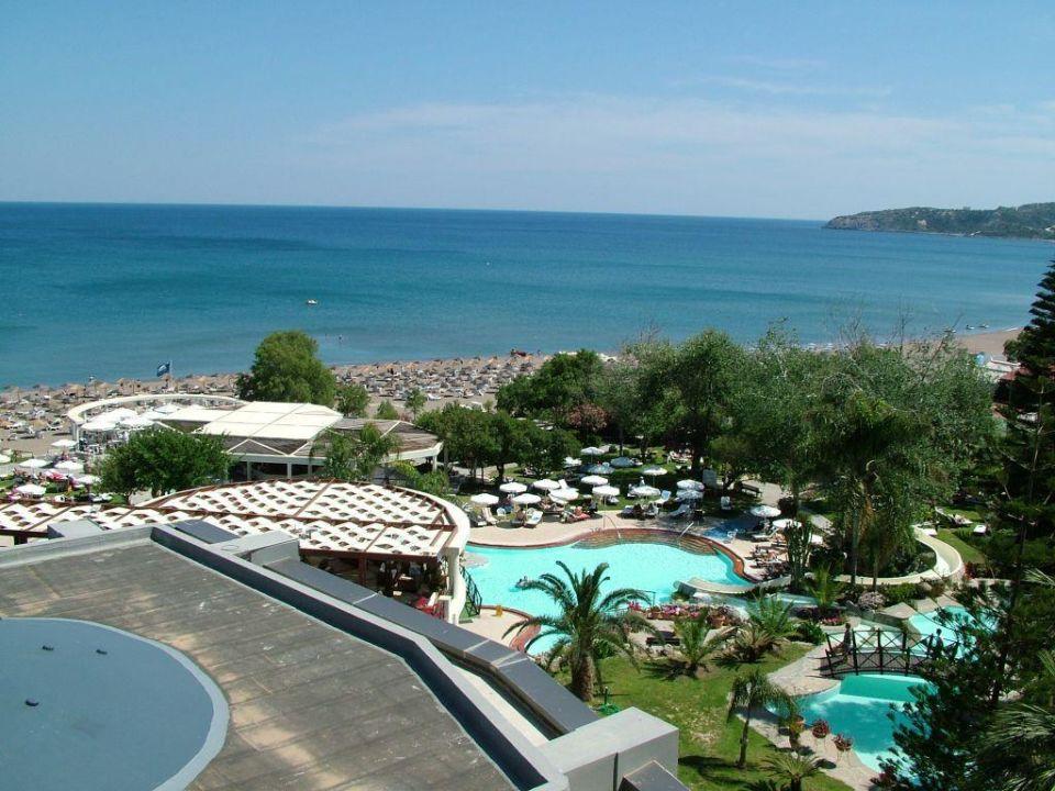 Balkon Meerblick Hotel Calypso Beach