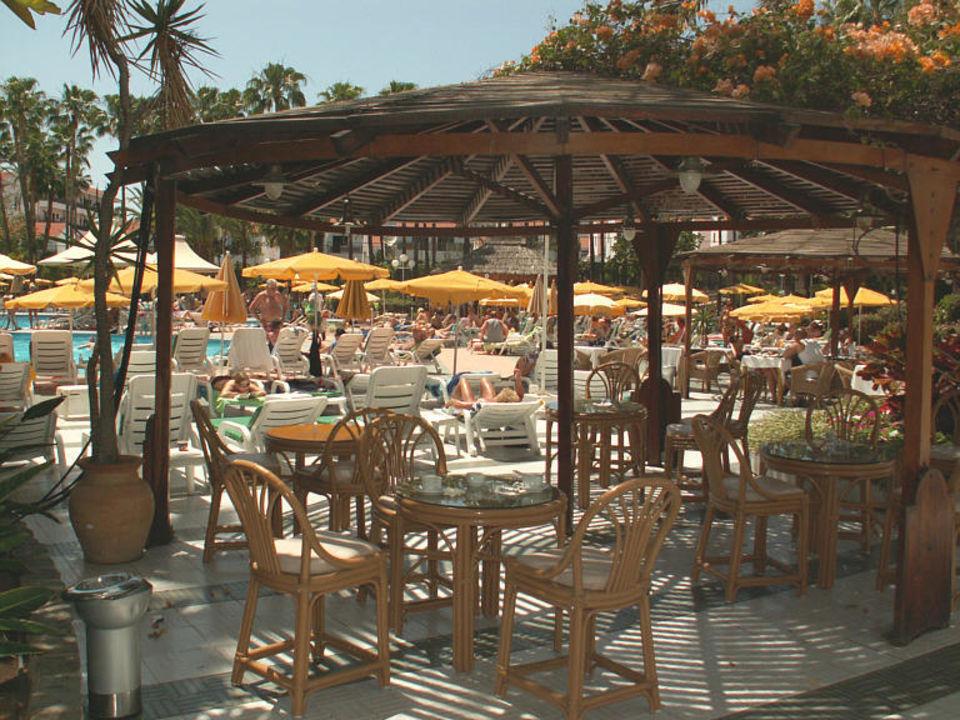 Außenbereich des Hotels Bull Eugenia Victoria & Spa