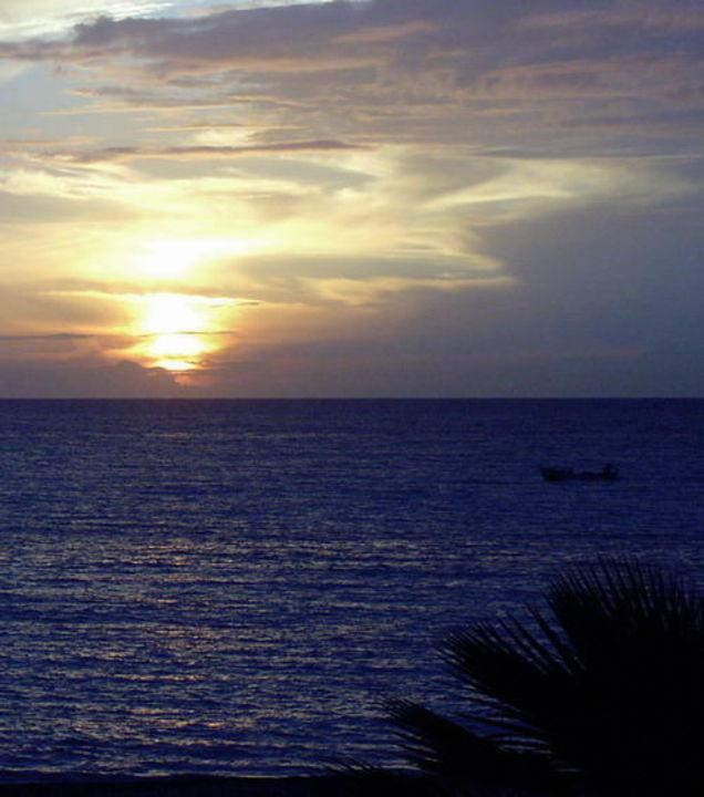 Sonnenuntergang in Incekum-Türkei Justiniano Club Park Conti