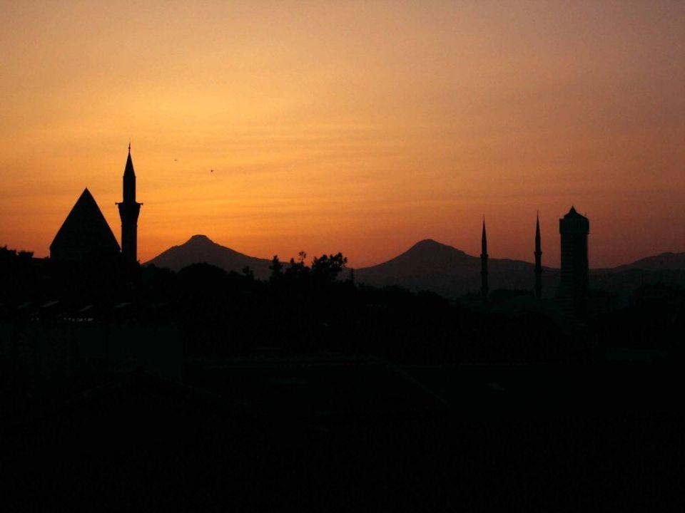 Blick auf Konya Hotel Selcuk