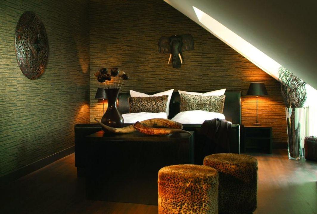 Zimmer im Afrikastyle Designhotel friends \