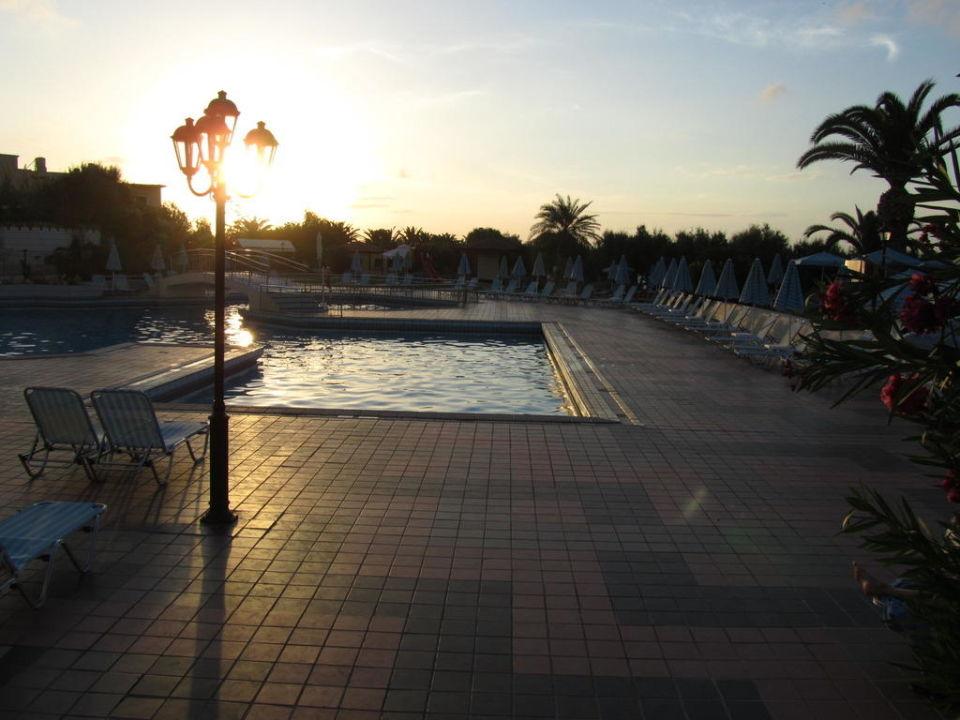 Auch schön am Abend Hotel Creta Star