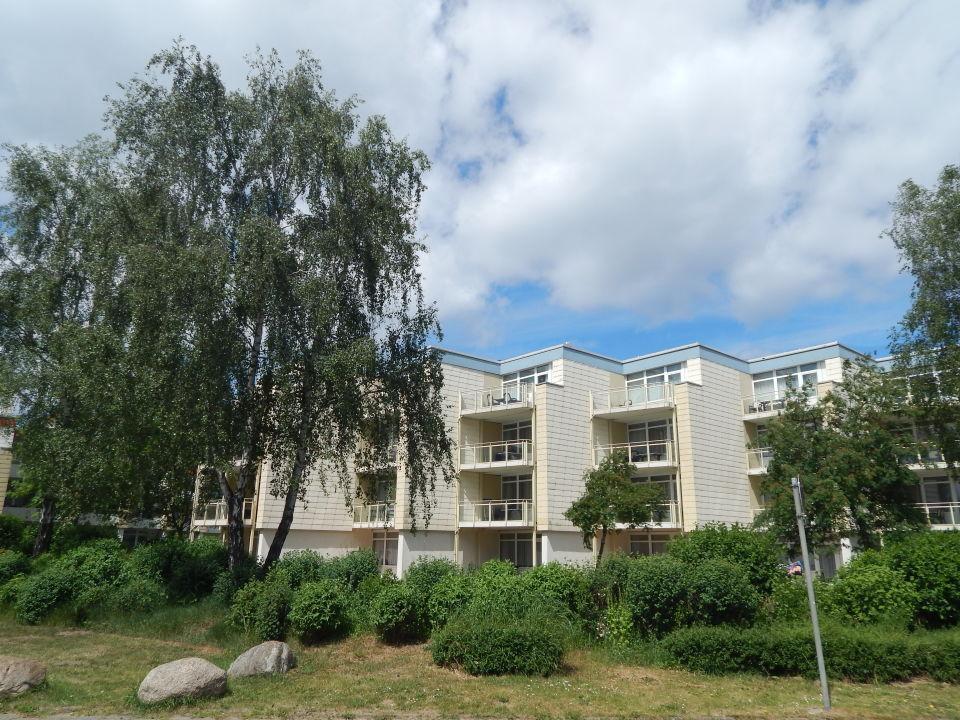 Außenansicht Apartments Ferienpark Weissenhäuser Strand