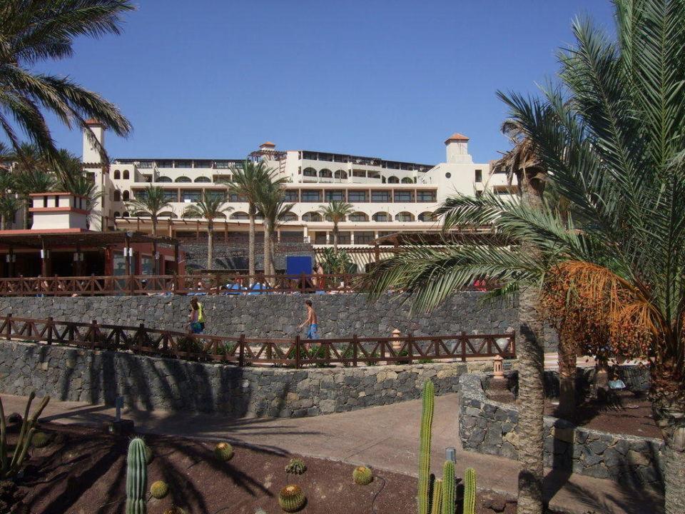 Blick Richtung Hauptgebäude Occidental Jandía Mar