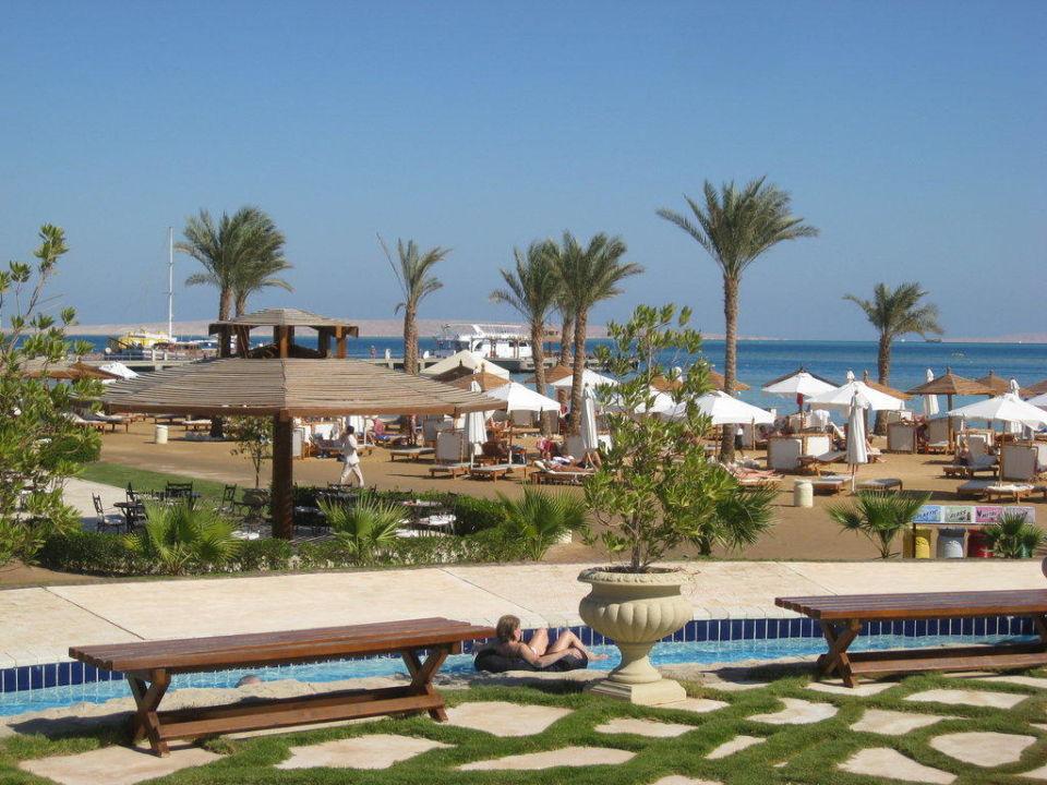 Blick Richtung Meer Steigenberger ALDAU Beach Hotel