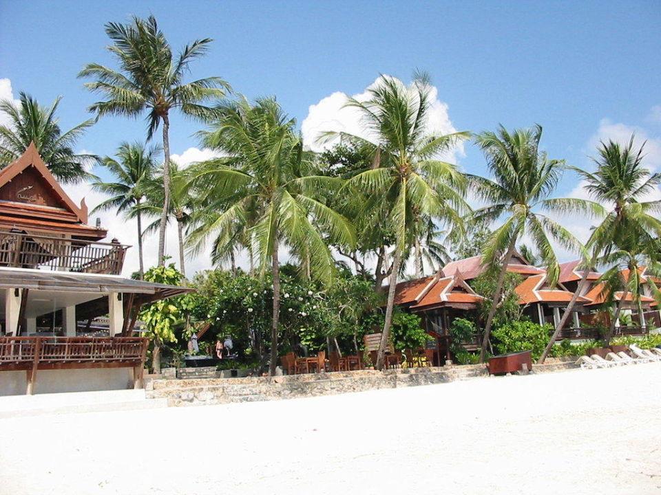 Blick vom Strand aus Samui Paradise Chaweng Beach Resort & Spa