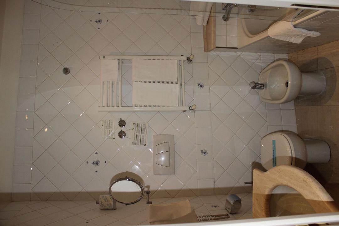 Ванная комната Hotel Cortina