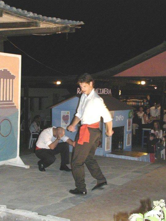 Griechischer Folkloretanz Club Calimera Simantro Beach