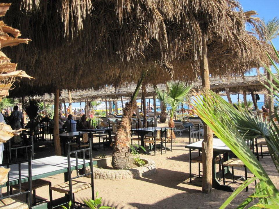 Mittagessen am Strand Giftun Azur Resort