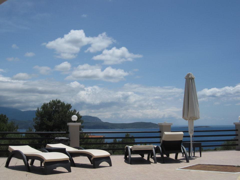 Blick vom Pool Naftilos Boutique Hotel