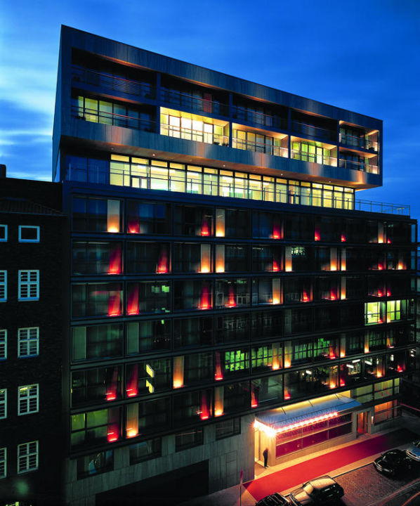 Außenansicht SIDE Design Hotel Hamburg