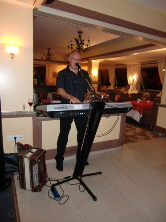 Ein Mann geniale Musik Hotel Haidachhof