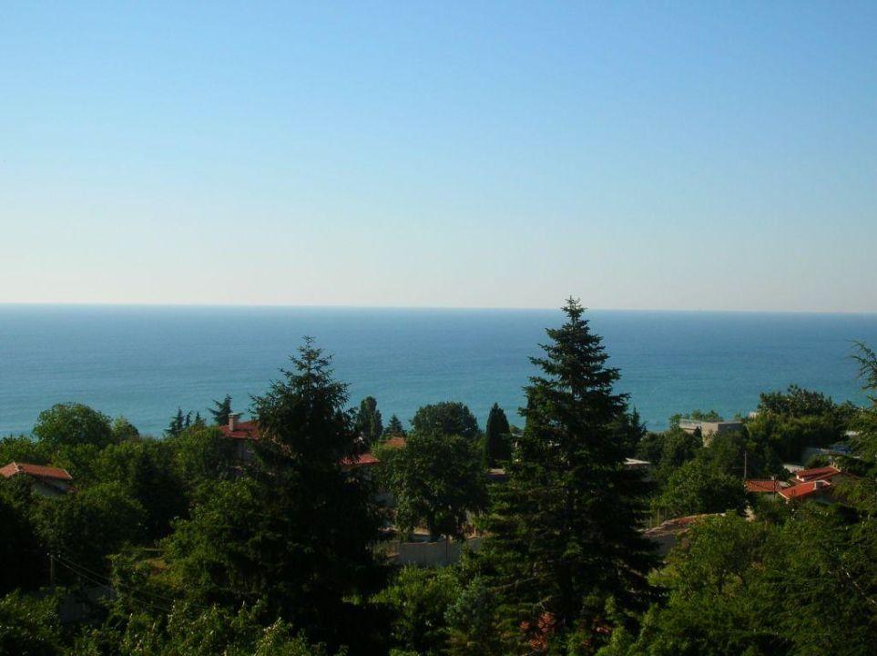 Aussicht auf das Meer Hotel Bellevue