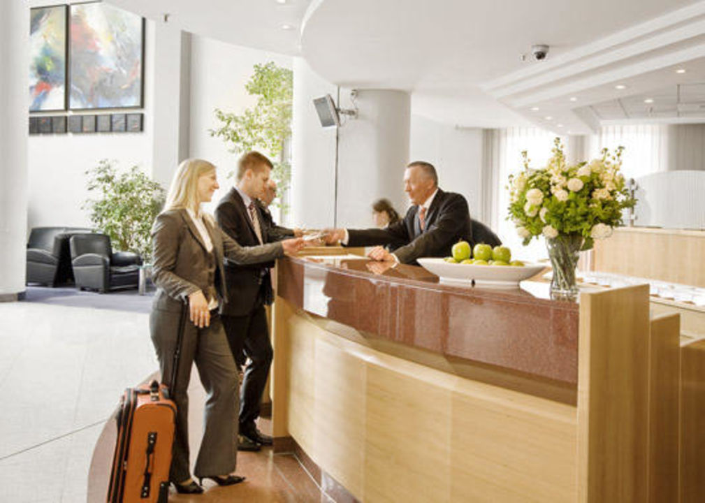 Check in Hotel Holiday Inn Hamburg
