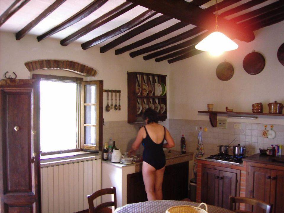 Kueche Casa Spini Hotel Pozzo Chiaro