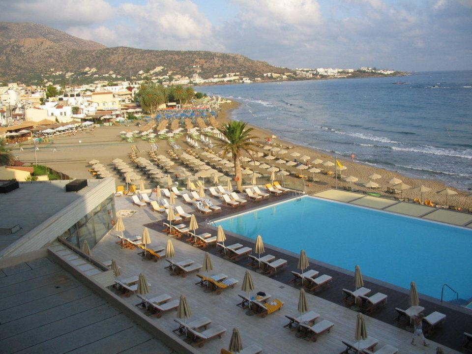 Blick vom Balkon Aktia Lounge Hotel & Spa