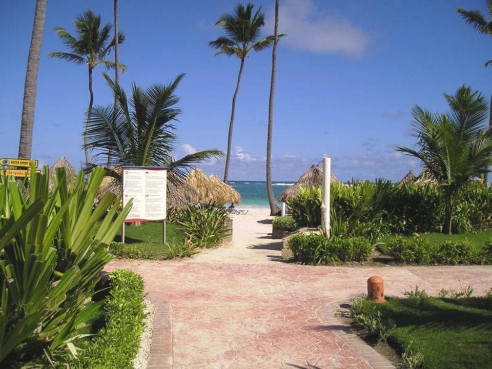 LTI Beach Resort/Weg zum Strand VIK Hotel Arena Blanca