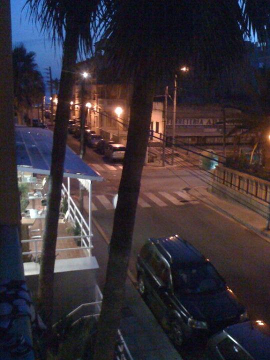 Ausblick bei Nacht Hostal Playa De Palma