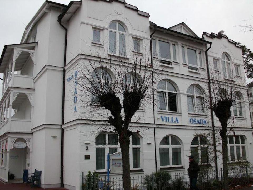 Sitzecke (mit Schlafcouch) Aparthotel Villa Osada