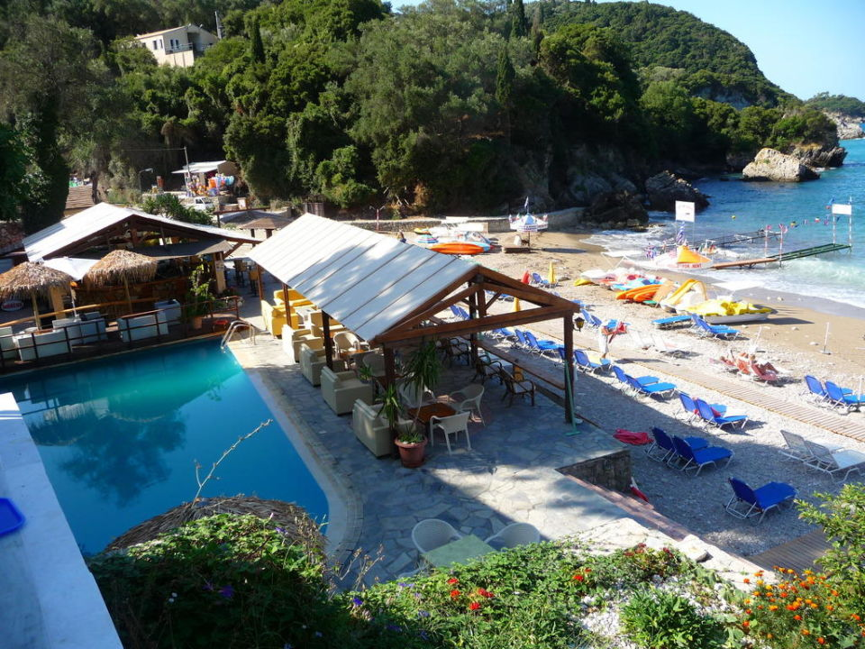 Pool Bar Hotel Blue Princess Beach Liapades Holidaycheck Korfu