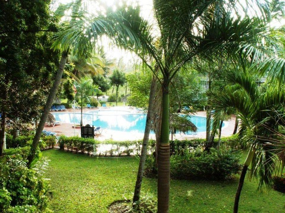 Bild gartenanlage mit pool zu hotel vista sol punta cana - Gartenanlage mit pool ...