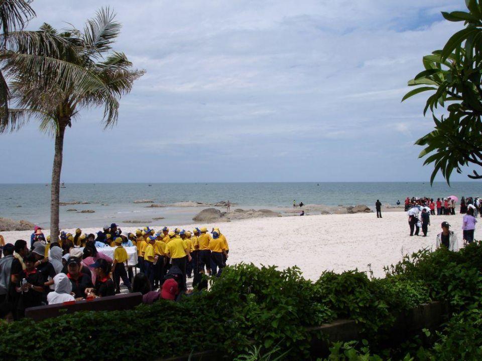 Lobby des Hotels Centara Grand Beach Resort & Villas Hua Hin