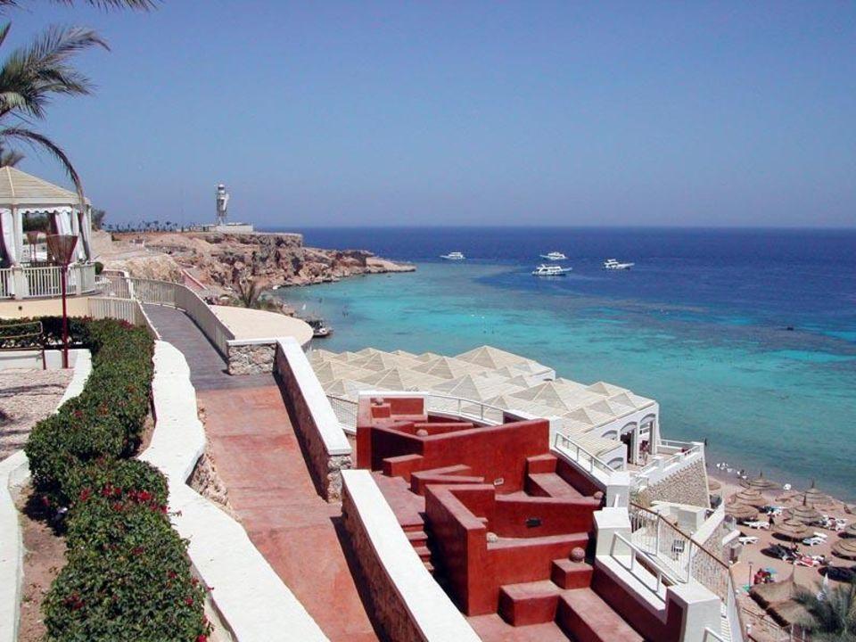 Ein traumhafter Ausblick zum Kap Ras umm Sid! Reef Village @ Reef Oasis Beach Resort Hotel  (existiert nicht mehr)