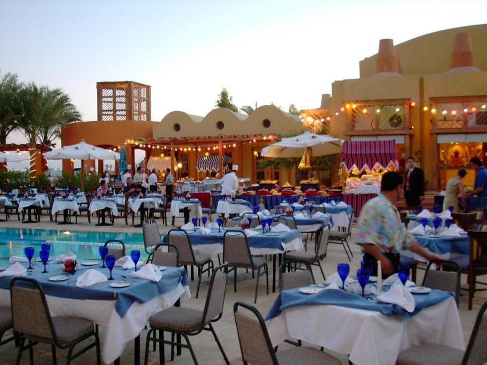 Dinner am Pool Steigenberger Golf Resort El Gouna