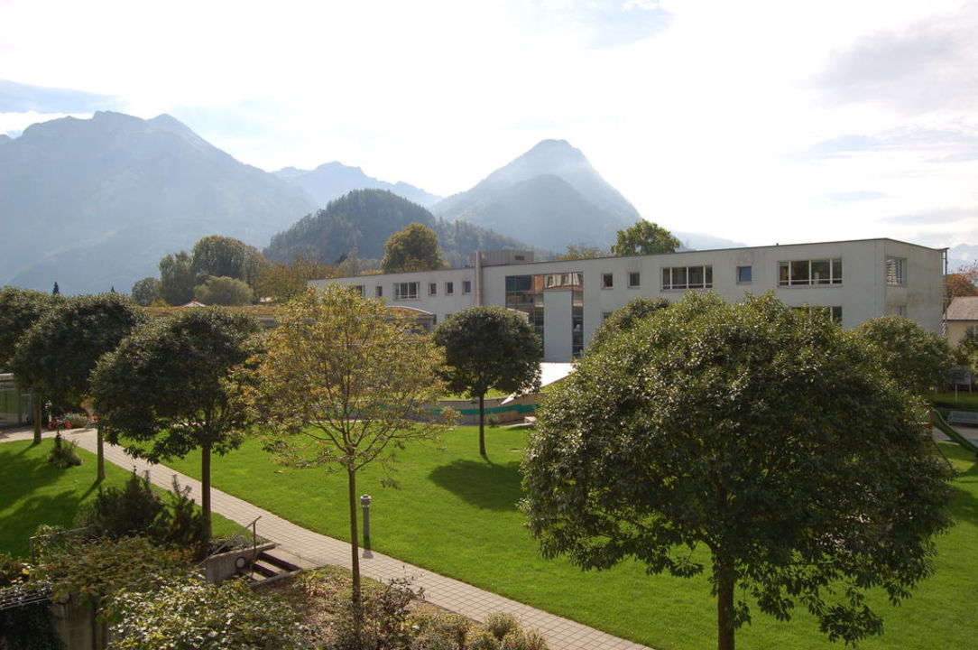 Ausblick Zimmer Haus «Oase» Hotel Artos