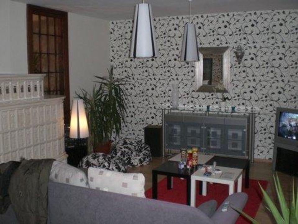 Wohnzimmer Der Penthouse Wohnung Hotel Abotel Regensburg