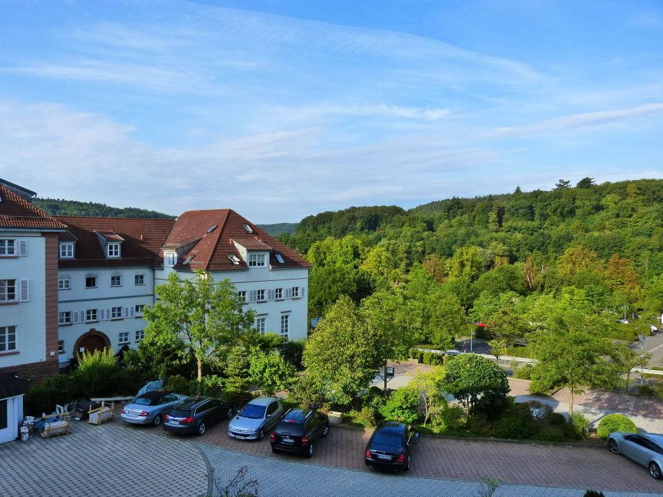 Blick Vom Balkon Hotel Zur Schonen Aussicht Marktheidenfeld