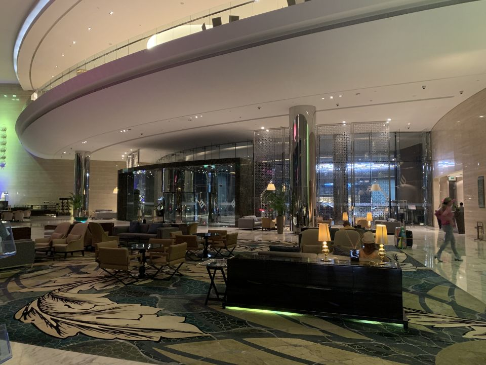 Lobby Jumeirah at Etihad Towers Hotel