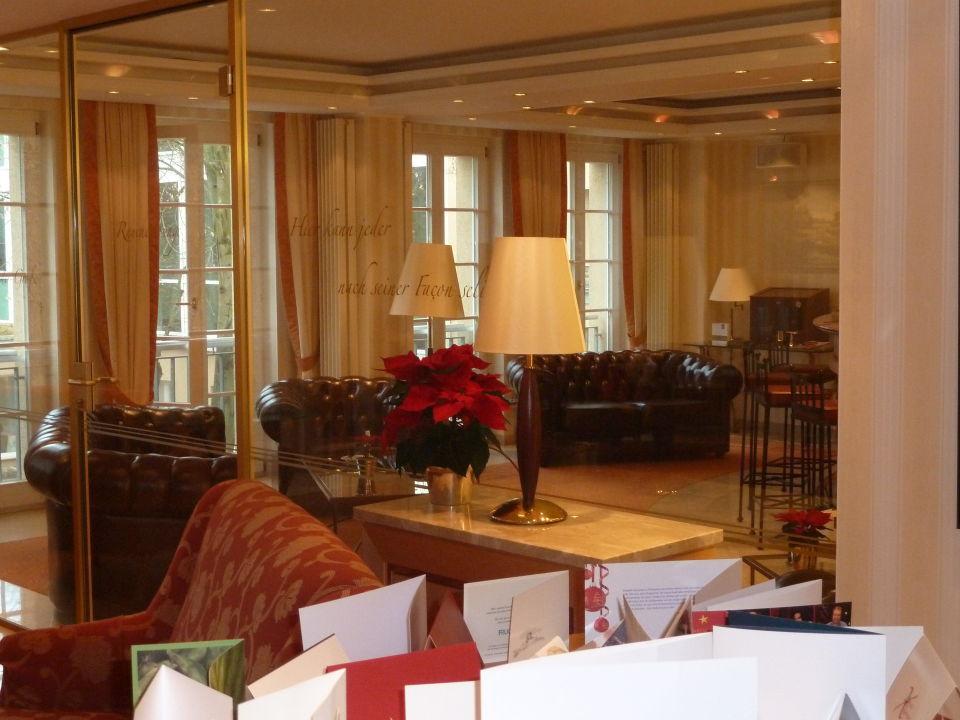 Lobby Mit Raucherzimmer Romantik Hotel Bayrisches Haus Potsdam