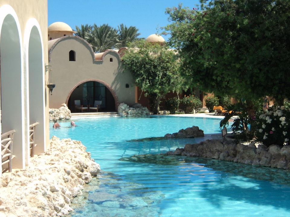 Eine Sehr Schöne Poolgestaltung Mit Restaurant Hotel Grand Makadi